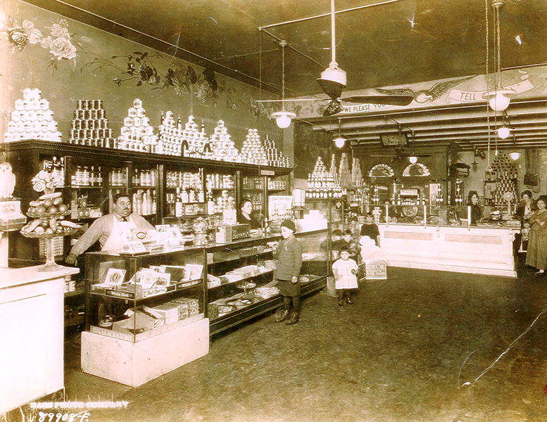 Old Grocery Store Timeline